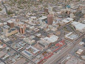 3D model albuquerque city