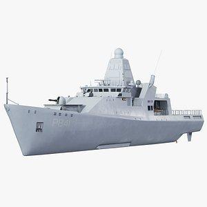 Holland-Class Offshore Patrol Vessel 3D model