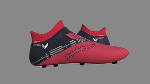 3D Football Soccer Boot