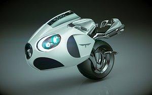 3D T Bike Solo Wheel 02 model