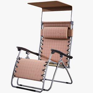 3D sun lounger lounge