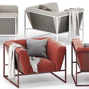 3D arpa armchair model