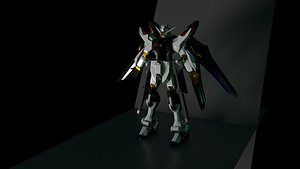 Gundam Strike Freedom Robot 3D model
