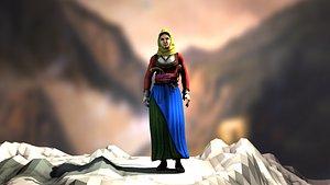 3D model Laskarina Bouboulina