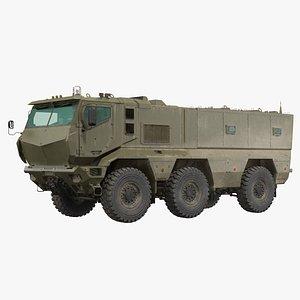 MRAP KAMAZ 63968 Typhoon 3D model