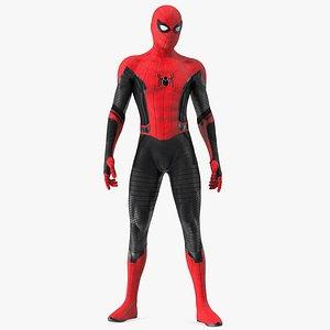 3D Spider Man Standing Pose