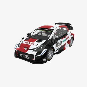 3D model toyota yaris world