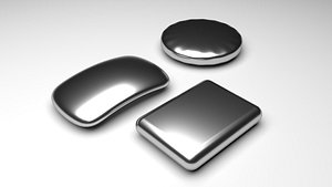 Stainless Steel Soap Bar 3D