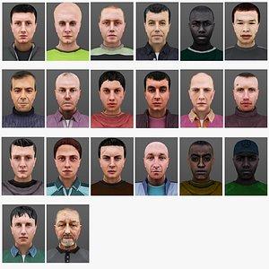 3D MAN 21 TO 40