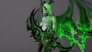 Demon Hunter 3D model