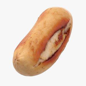 3D Realistic Sausage L model