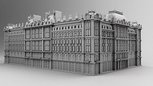 Hotel Chicago 3D model