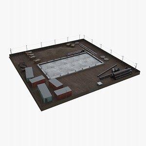 3D model Construction Site
