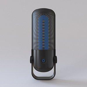microphone p 3D model