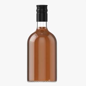 3D Whiskey bottle 10 model