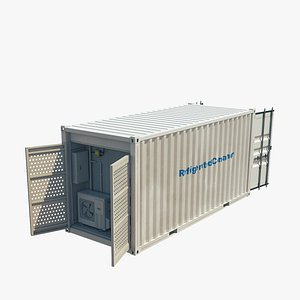 3D refrigerated container