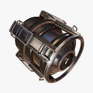3D Fuel Tank B