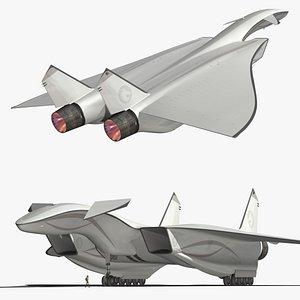 Autonomous supersonic cargo 3D