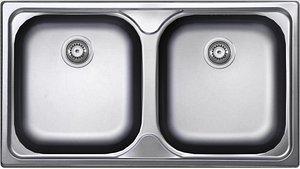 Sink UKINOX 2 bowl 780 x 435 3D model