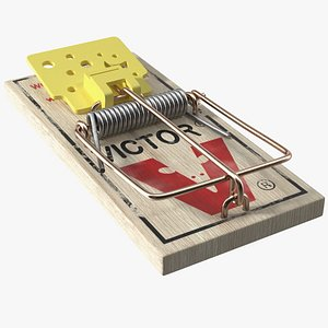Victor Trigger Plate Mouse Trap 3D model