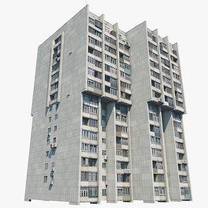 Khrushchyovka Ulitsa Truda 41 3D model