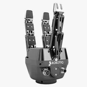 robotiq robot hand 3D model