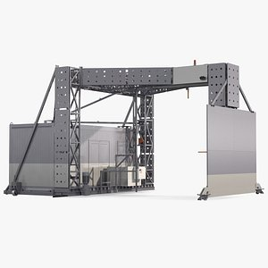 3D XRay Freight Scanner