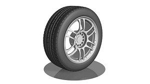 Wheel 3 Hypoly 3D