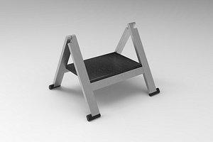 3D Stepladder model