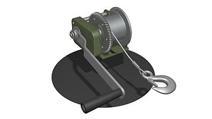 3D model 3 WINCH CAR for SUVs and ATV