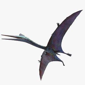 quetzalcoatlus quetzalcoatl 3D model