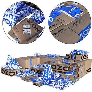 3D Ozon parcels