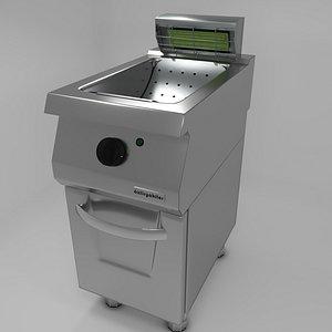 Commercial Kitchen 700 Series Potato Rest 3D Model 3D model