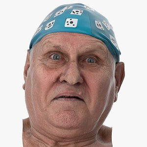 3D Homer Human Head Fear Clean Scan