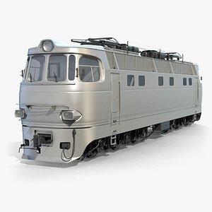3D soviet train locomotive chs4