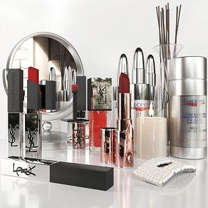 A set of elite cosmetics 2 3D model