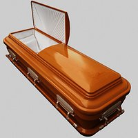 High Def Classic Coffin Wood Modern