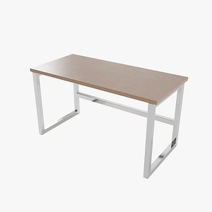 table pbr metalic 3D model