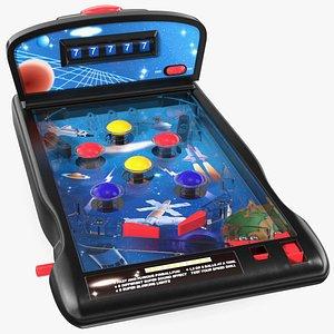 Space Mini Pinball Machine 3D