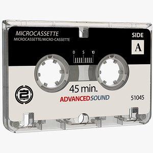 3D microcassette cassette model