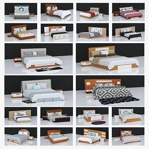 20 BEDS VOLUME - 2,3 3D model