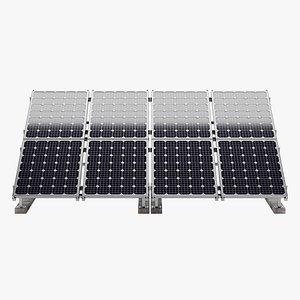 Solar Panels 3 3D