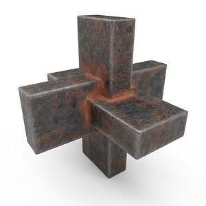 3D metal details model