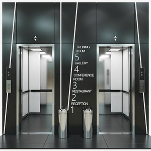 passenger elevator model