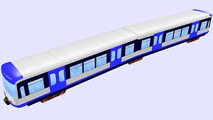 3D amsterdam s3-m4 metro model