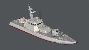 3D 58155 boat