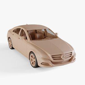 2011 Mercedes-Benz CLS 3D model