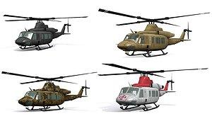UH 1 Venom four models model