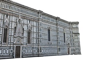 3D Florence Cathedral model