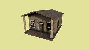 western house 01 - 3D